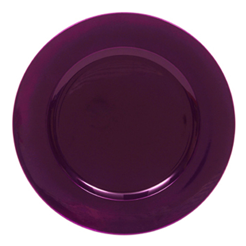 The Jay Companies 13quot Round Purple Polypropylene Charger Plate  sc 1 st  Castrophotos & Purple Plastic Charger Plates - Castrophotos