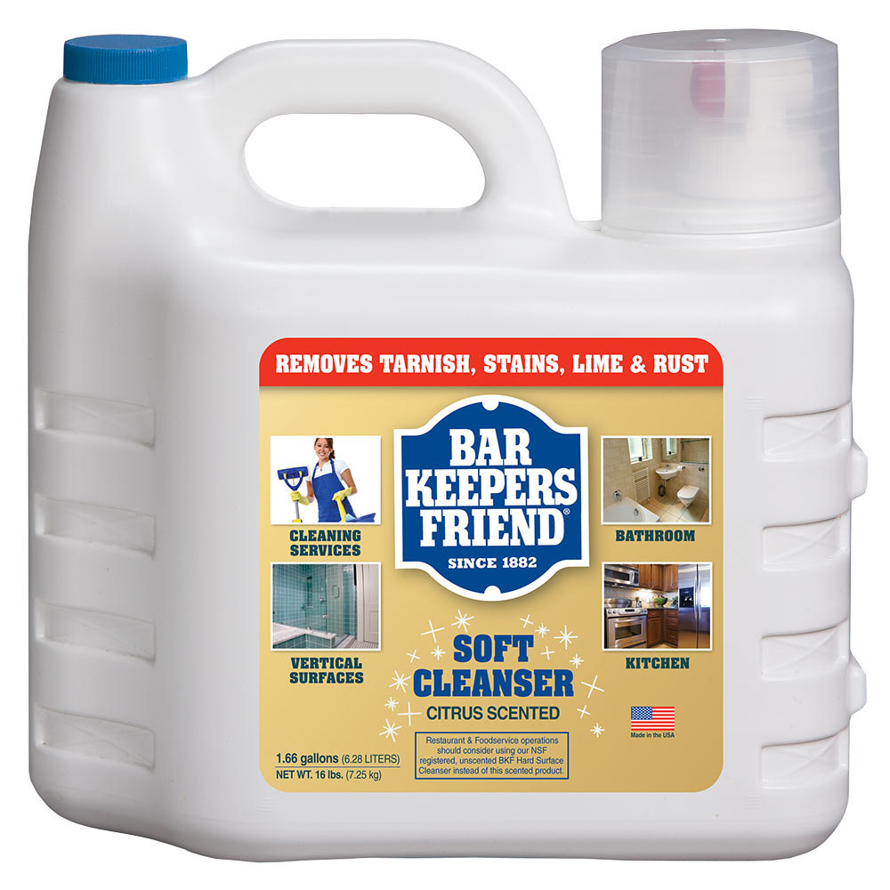 bar keepers friend gallon all purpose soft cleanser 2 case. Black Bedroom Furniture Sets. Home Design Ideas