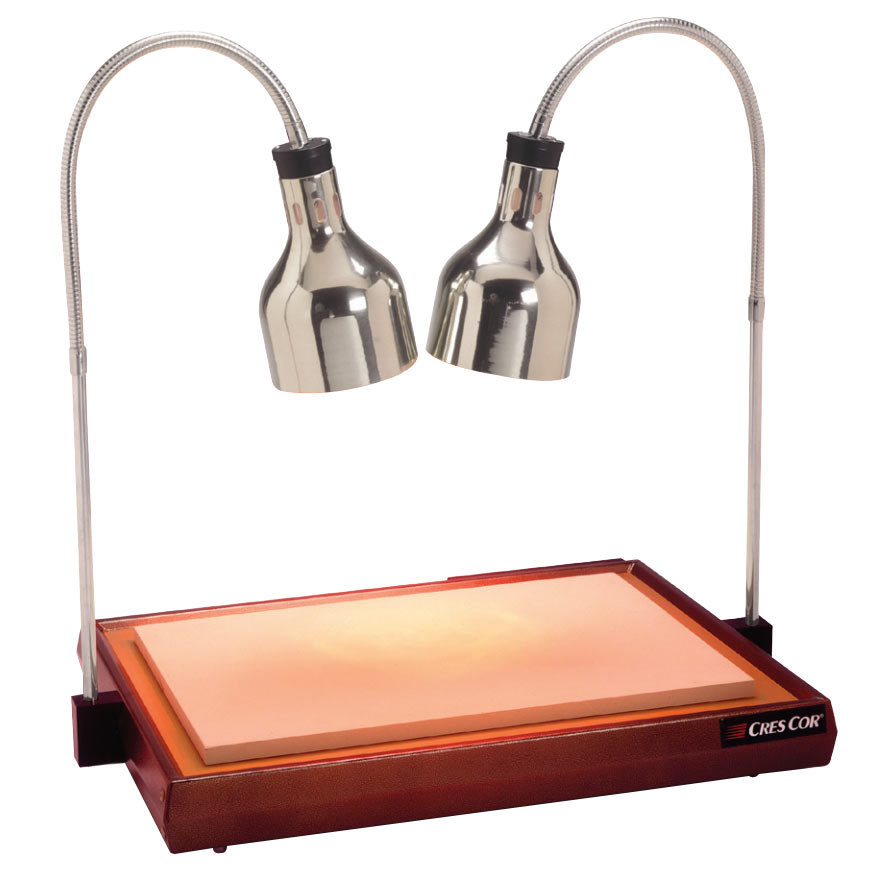 cres cor csh 122 10pn carving station with dual heat lamps. Black Bedroom Furniture Sets. Home Design Ideas