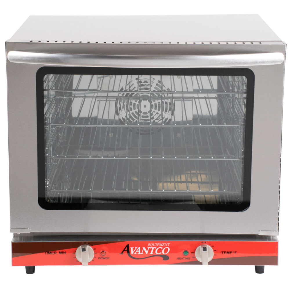 Countertop Oven Size : Avantco CO-28 Half Size Countertop Convection Oven, 2.3 Cu. Ft. - 208 ...