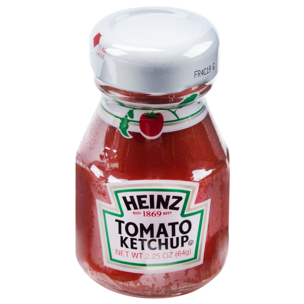 Heinz Ketchup 2 25 Oz Mini Bottle 60 Case