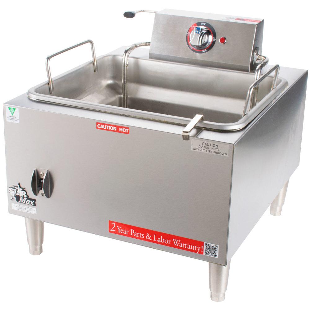 Countertop Deep Fryer : Star Max 301HLF 15 lb. Commercial Countertop Deep Fryer 5300W