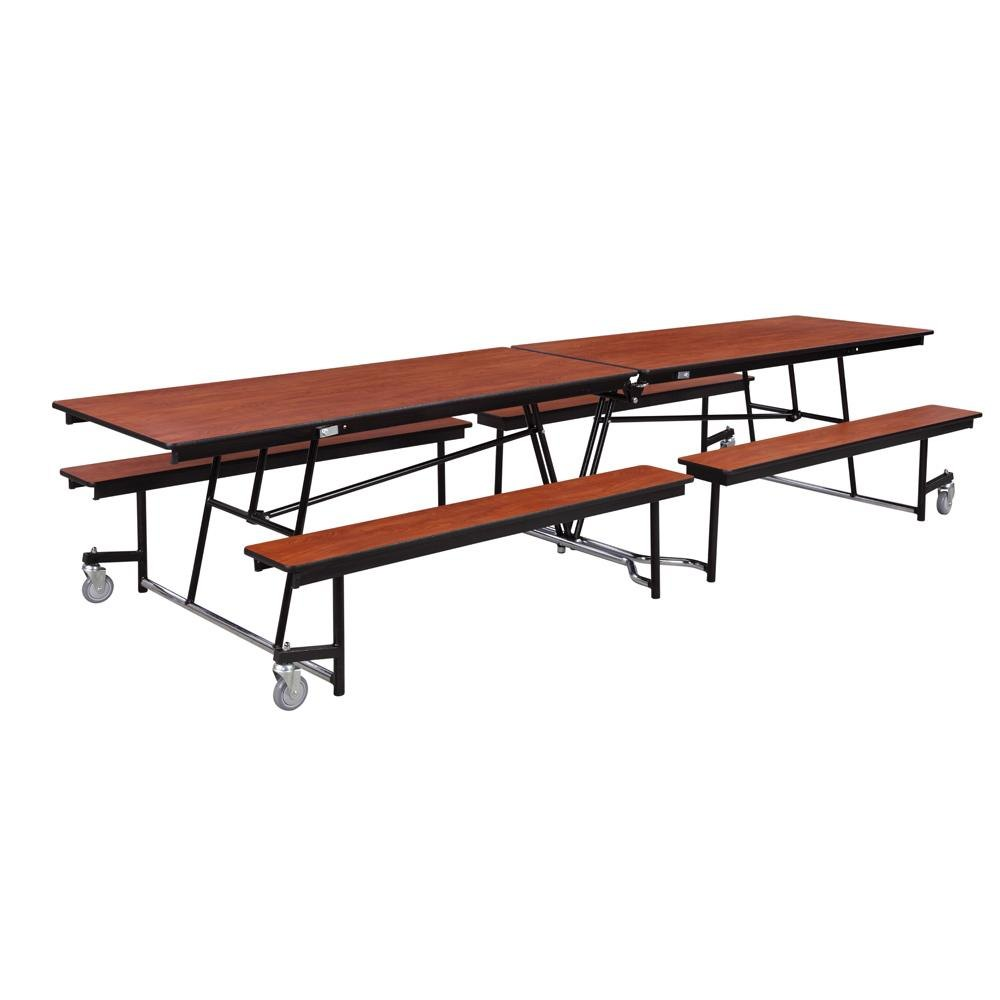 National public seating mtfb12 12 foot mobile cafeteria for 12 foot table