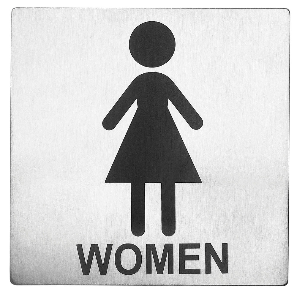 Women Restroom Sign Stainless Steel. Female Bathroom Sign  Women Restroom Is A Image Of Signs On Men S