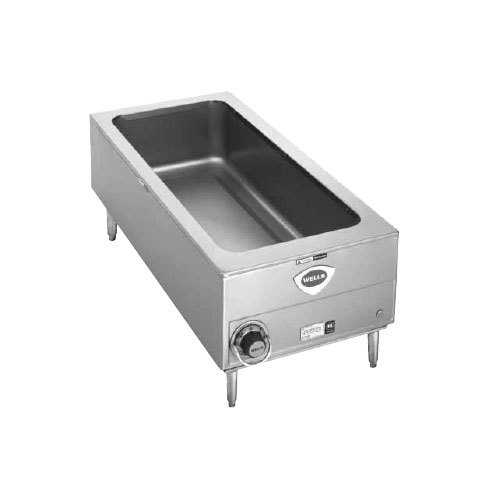 Wells SMPT27 D 12 X 27 4 3 Size Countertop Food Warmer With Drain