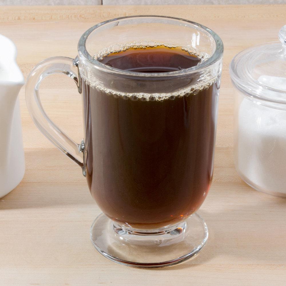 Espresso Coffee Glass ~ Libbey  oz irish glass coffee mug case