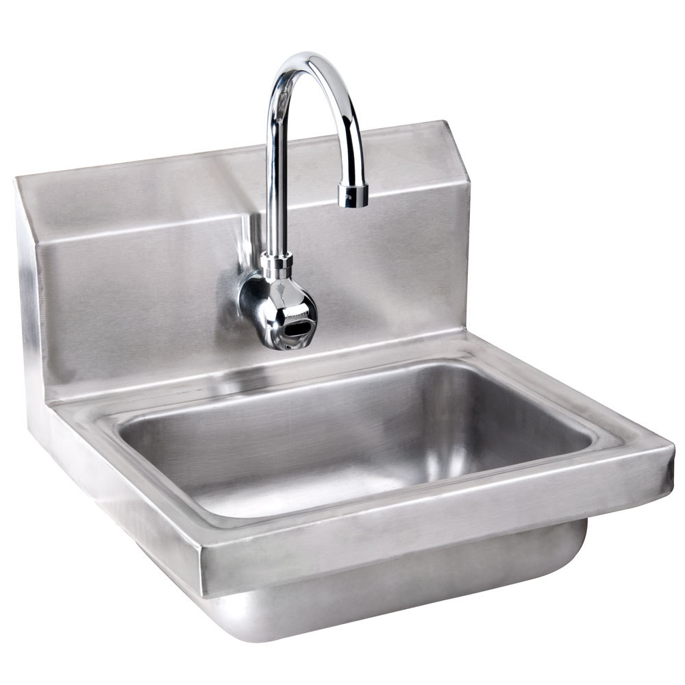 Commercial Hand Sink : Advance Tabco 7-PS-61 Hand Sink with Hands-Free Automatic Faucet