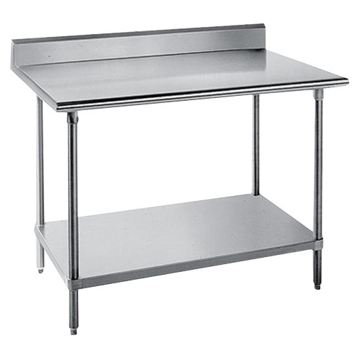 work table with stainless main picture