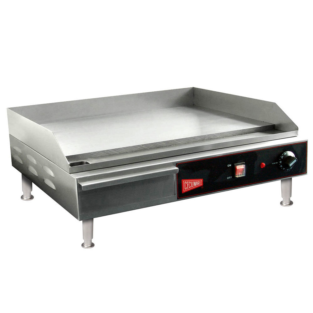Electric Grill Griddle ~ Cecilware el quot electric griddle v