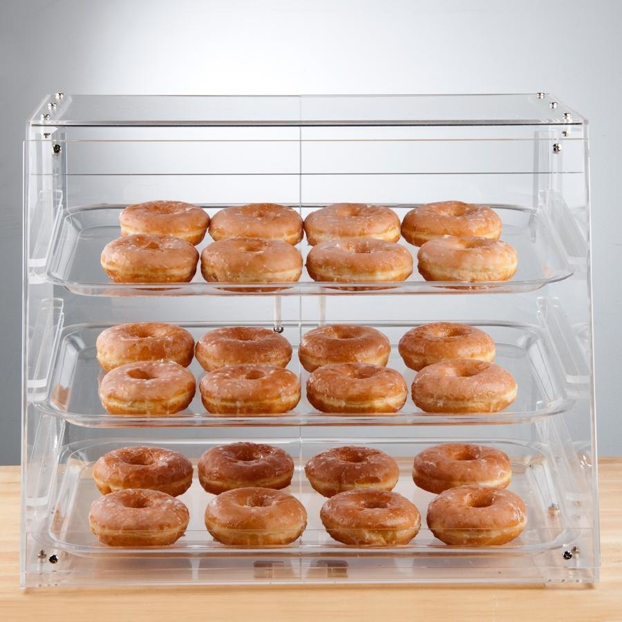 Bakery Display Case 3 Tray Bakery Display Case W Rear Doors