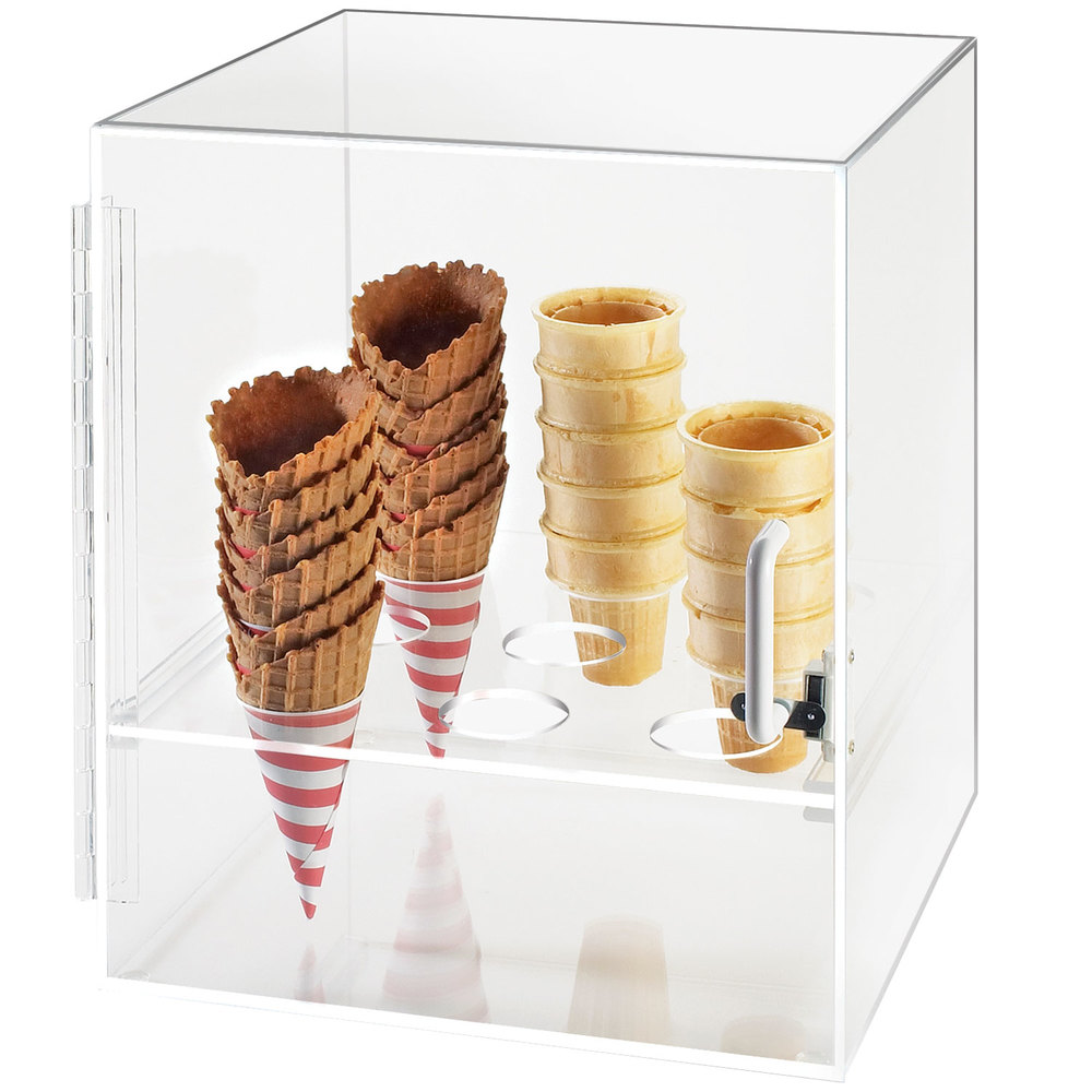 Cal Mil 386 Nine Cone Ice Cream Cone Holder Cabinet
