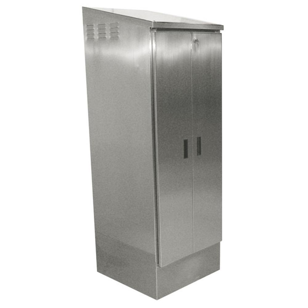 Mop Sink Stainless Steel : Advance Tabco 9-OPC-84 Stainless Steel Mop Sink Cabinet - 24 7/8