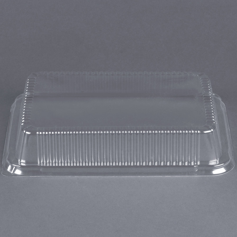 Durable Packaging P4700 250 Clear Dome Lid For 13 Quot X 9