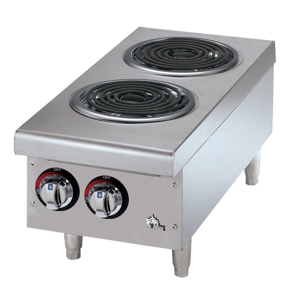 Countertop Gas Stove Price : Star Max 502CF 2 Burner Countertop Range with Coil Burners