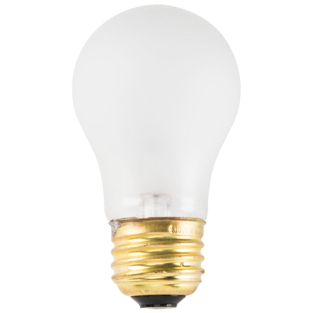 60 Watt Havells 60523 Toughcoat Frosted Incandescent Appliance Light Bulb 2 Pack A15 130v