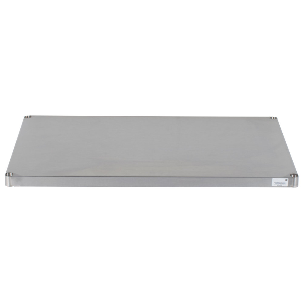 Advance Tabco Sh 2442 24 X 42 Solid Stainless Steel Shelf