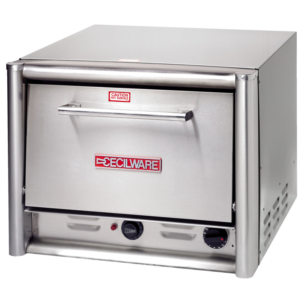 Commercial Countertop Pizza Oven Reviews : Cecilware PO18 Single Countertop Pizza Oven