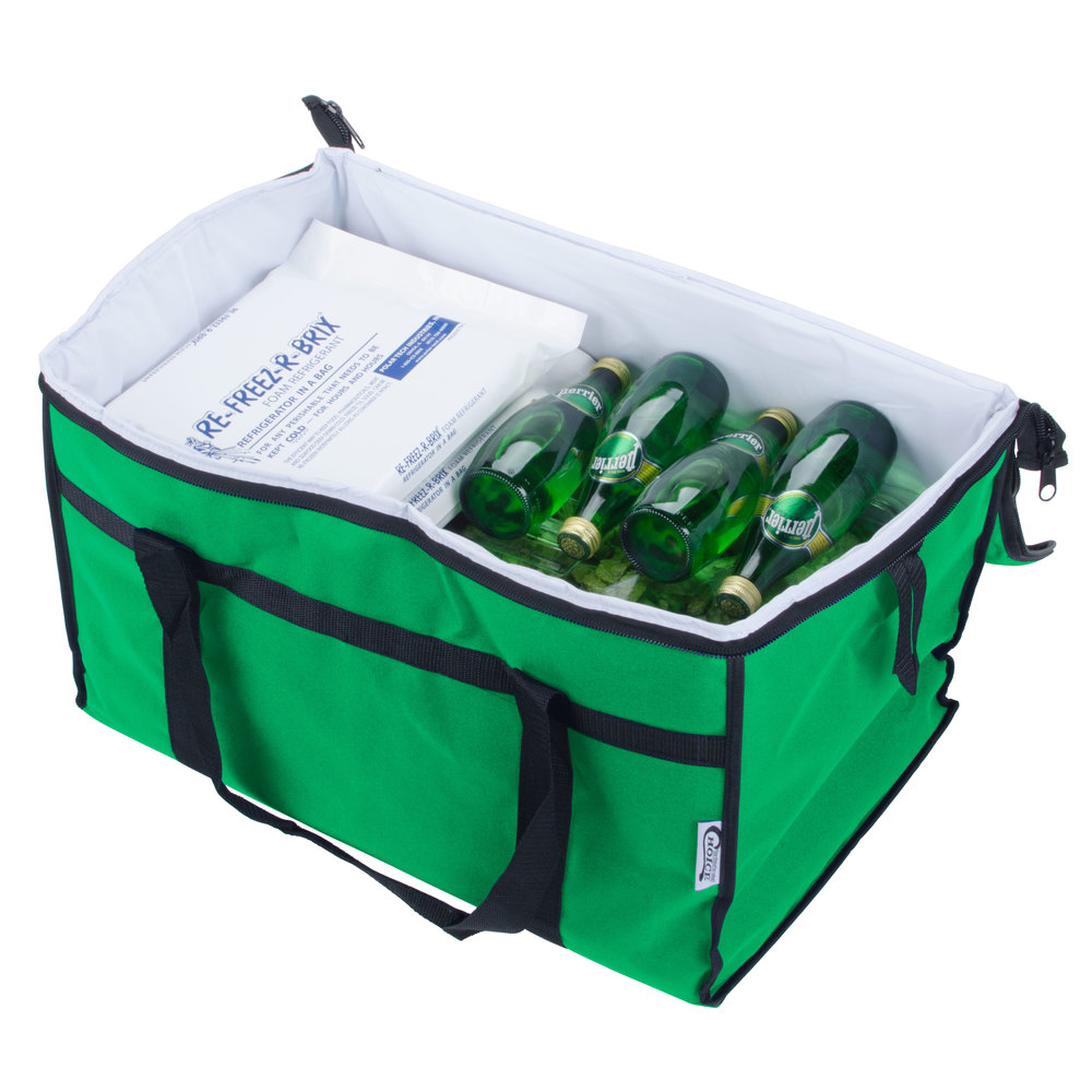 Choice Soft Sided Insulated Cooler Bag Green Nylon