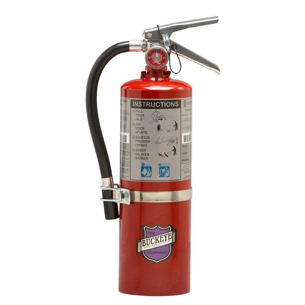 K Fire Extinguisher : Buckeye lb purple k dry chemical bc vehicle fire