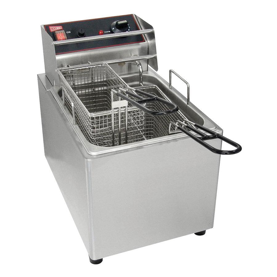 Countertop Deep Fryer : ... Commercial Countertop Deep Fryer with 15 lb. Fry Tank - 240V, 3200W