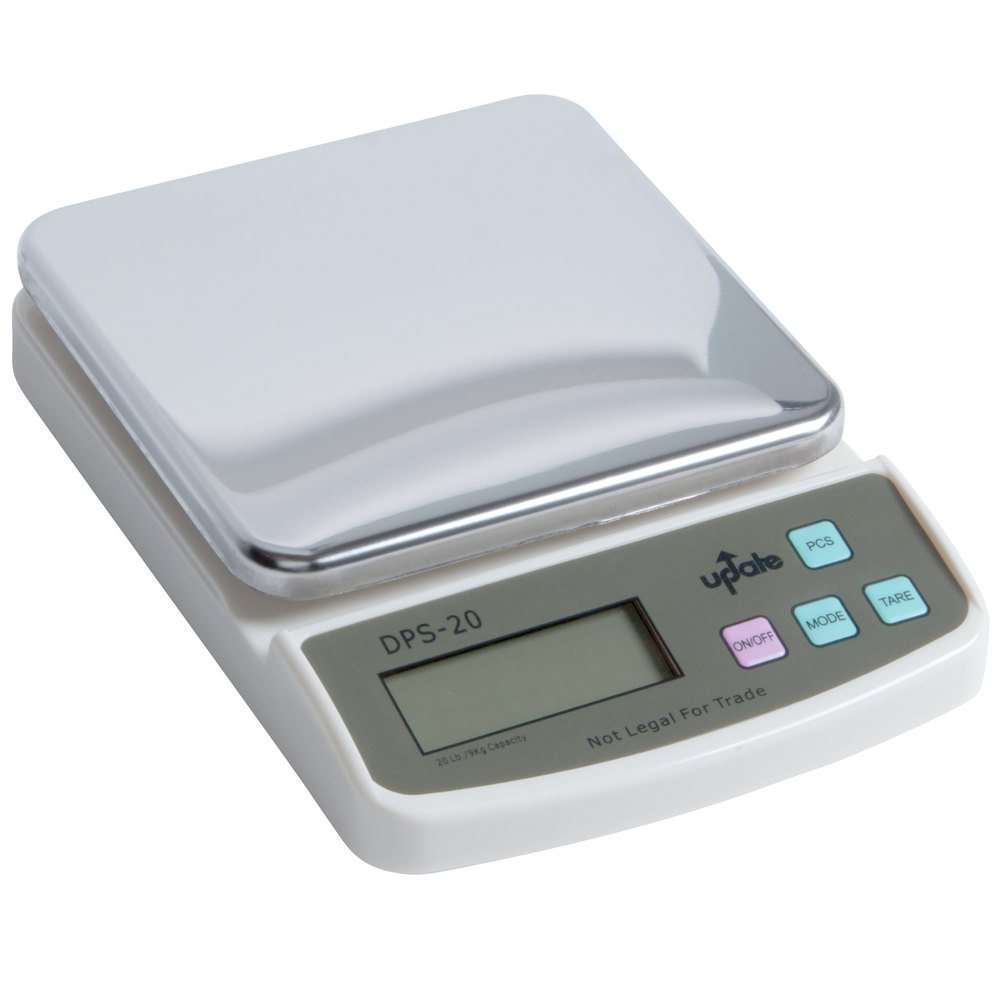 Small Kitchen Weighing Scales 20 Lb 9 Kg Compact Digital Scale