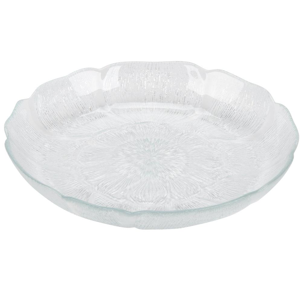 Clear Glass Salad Plates