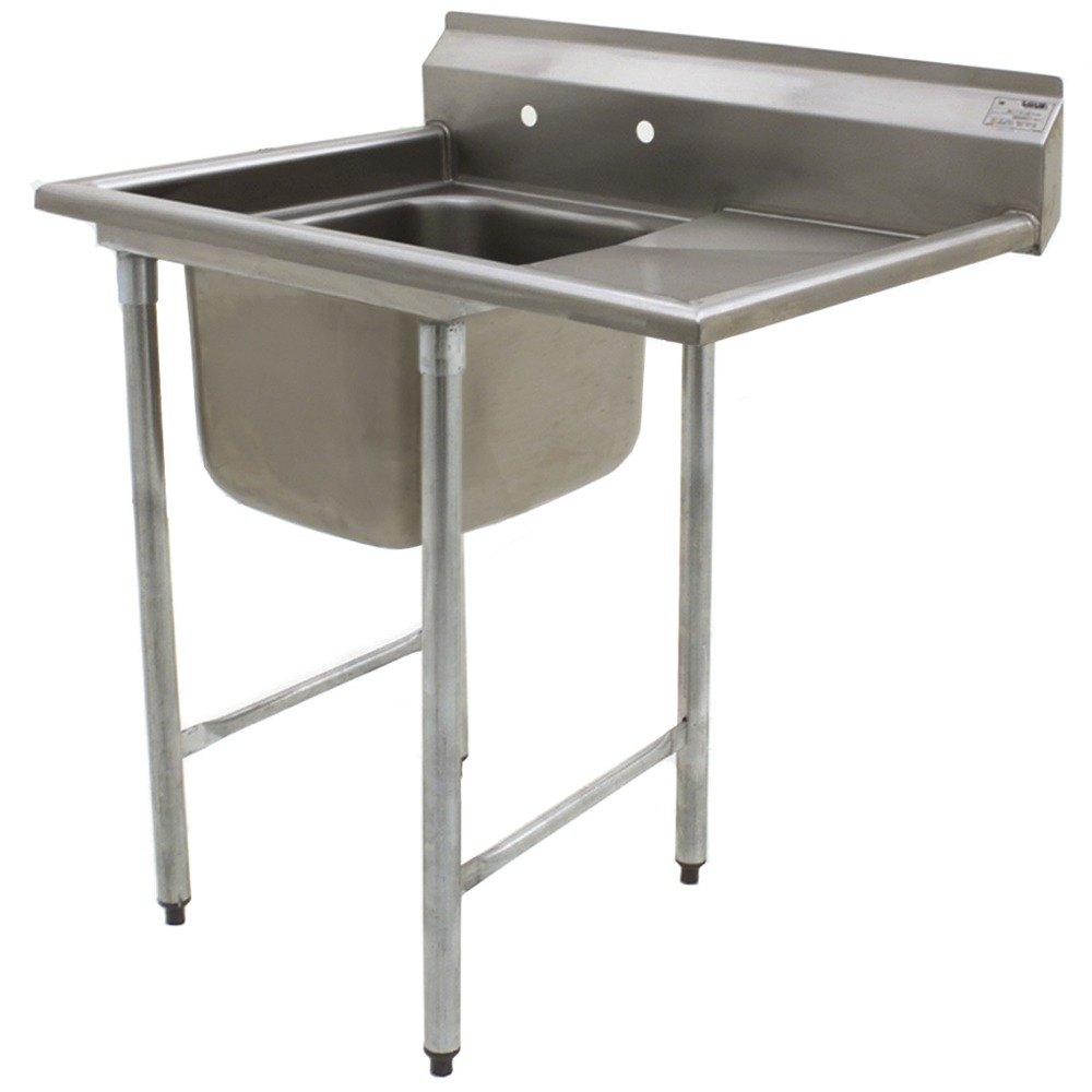 ... One Bowl Stainless Steel Commercial Compartment Sink with Drainboard