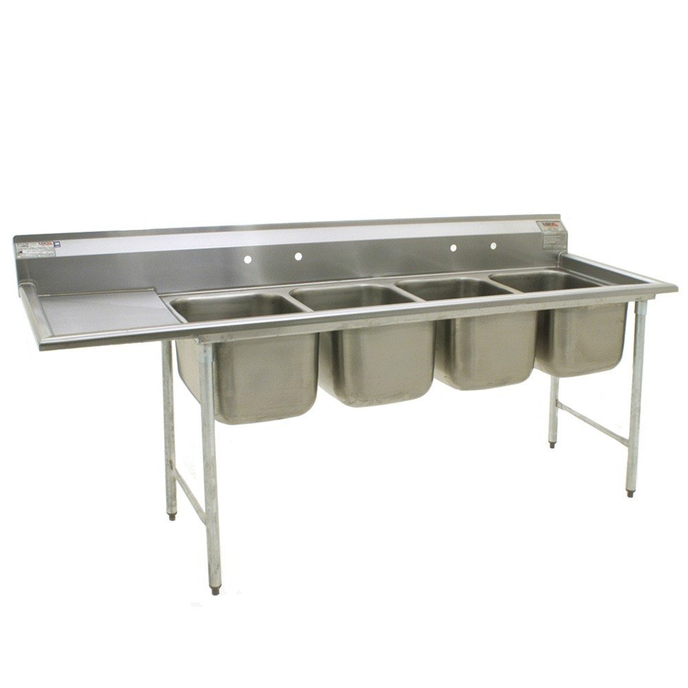 Compartment Sink : ... Bowl Stainless Steel Commercial Compartment Sink with 18