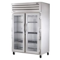 True STA2H-2G Specification Series Two Section Glass Door Reach In Heated Holding Cabinet