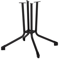 BFM Seating DVTBC6060A Celino Standard Height Outdoor / Indoor Anthracite Steel Table Base
