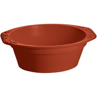 Tablecraft CW1420CP 3.5 Qt. Copper Cast Aluminum Small Oval Casserole Dish