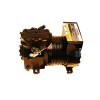 True 842085 1 1/2 hp Compressor with Overload, Relay, Start Capacitor, Run Capacitor, and Service Valve - 208V, R-404A