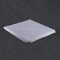 Hotel Duvet Cover - 250 Thread Count Cotton / Poly - White Twin 70 inch x 93 inch