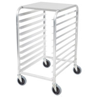 Cres Cor 275-38-1810-KDT 10 Pan End Load Half Height Bun / Sheet Pan Rack - Unassembled