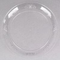 WNA Comet DWP10144C 10 1/4 inch Clear Plastic Designware Plate 18 / Pack