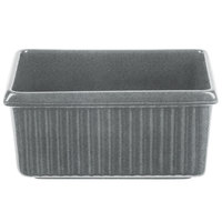 Tablecraft CW1530GR 3 Qt. Granite Rectangle Server with Ridges