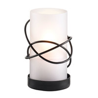 Sterno Products 85106 5 inch Atomic Black Lamp Base