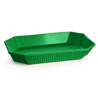 Tablecraft CW2010GN 4.5 Qt. Green Cast Aluminum Octagon Casserole Dish