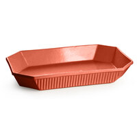 Tablecraft CW2020CP 13 Qt. Copper Cast Aluminum Octagon Casserole Dish