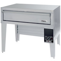 Garland G56PB Natural Gas 63 inch Air Deck Pizza Oven with Bottom-Mounted Power Module - 80,000 BTU