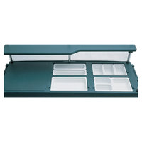 Cambro 7367 Replacement 4-Well Top with Covers for CamKiosks