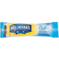 Hellmann's Light Mayonnaise - (204) 12 Gram Portion Packets / Case - 204/Case