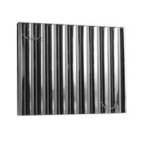 All Points 31-466 16 inch x 16 inch x 2 inch Frameless Stainless Steel Hood Filter