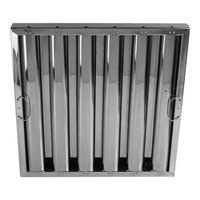 All Points 26-4593 20 inch x 20 inch x 2 inch Stainless Steel Hood Filter - Kleen-Gard