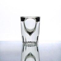 Anchor Hocking 5280VU 1.25 oz. Fluted Whiskey / Shot Glass - 12 / Pack