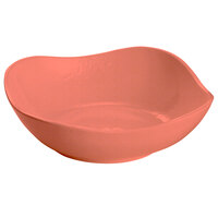 Tablecraft CW12082GG 24 oz. Ginger Cast Aluminum Wavy Square Bowl