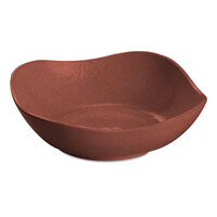Tablecraft CW12080GG 1.5 Qt. Ginger Cast Aluminum Wavy Square Bowl