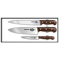 Victorinox Forschner 47057 Rosewood 3 Piece Chef Set
