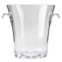 4 Qt. Polycarbonate Ice Bucket With Tongs