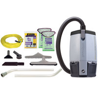 ProTeam 107363 6 Qt. ProVac FS 6 Backpack Vacuum Cleaner with Restaurant Kit